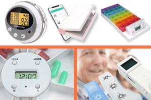 dispensadores de pastillas con alarma electronica