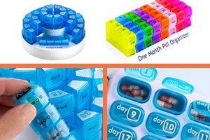 organizador de toma de medicamentos 31 dias