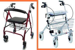 Caminadores para mayores, ancianos y enfermos
