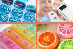 organizador de pastillaas diario, semanal, mensual
