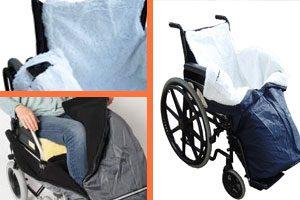 Saco para silla de ruedas, termico